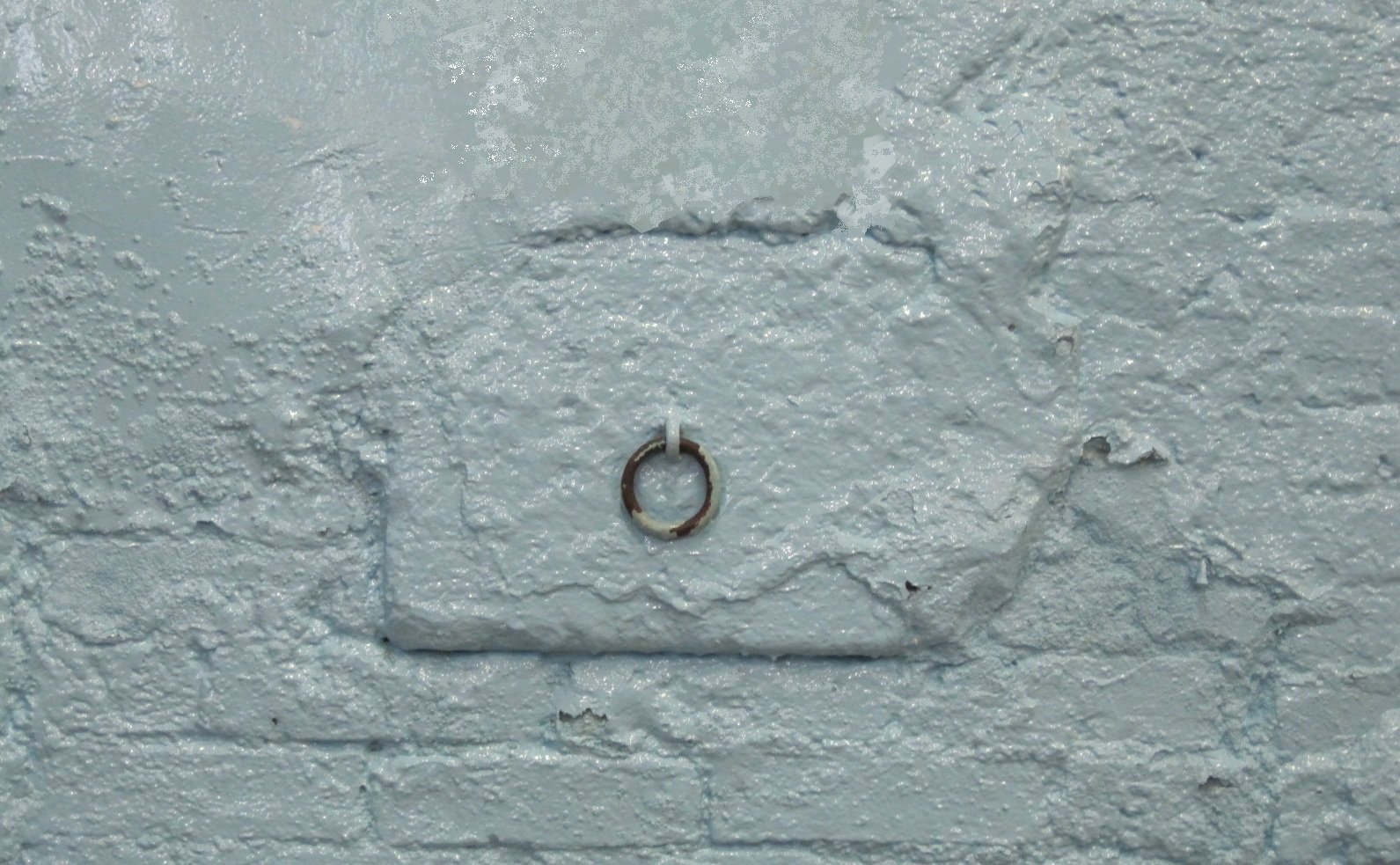 Arkwright's Horse Tethering Ring in the wall of Masson Mills