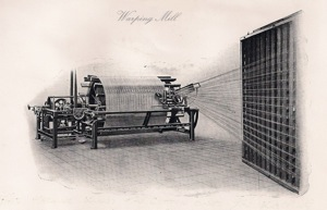 Old drawing of the Warping Mill