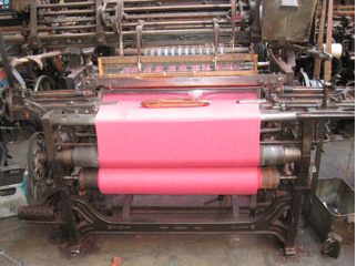 Yorkshire loom in Weaving Shed