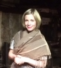 Lucy Worsley films at Masson Mills